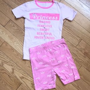 🌼3/$18 Children's Place Princess pajama set 12